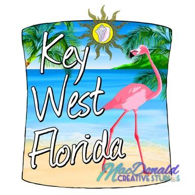 Key West Florida Flamingo