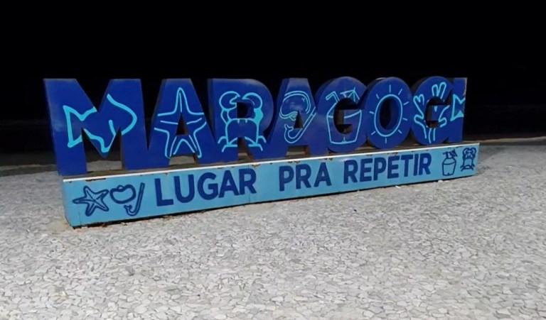 Letreiro de Maragogi