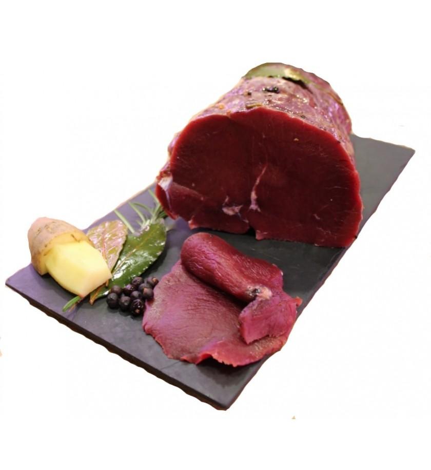 carne salada di cervo  Selvaggina  Carne