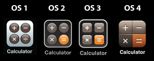 Why is Apple obsessed with the iPhone's Calculator icon?