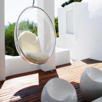Hanging Bubble Chair  Macer Home Decor