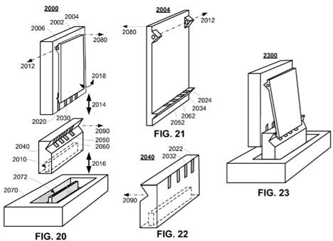 Apple Patent: iPod nano Clip als Dock-Verbindung › Macerkopf