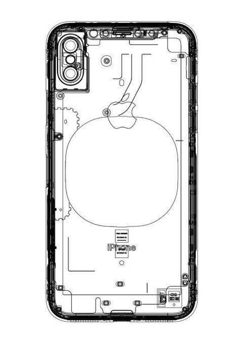 iPhone 8: Neue schematische Zeichnung mit Hinweis auf