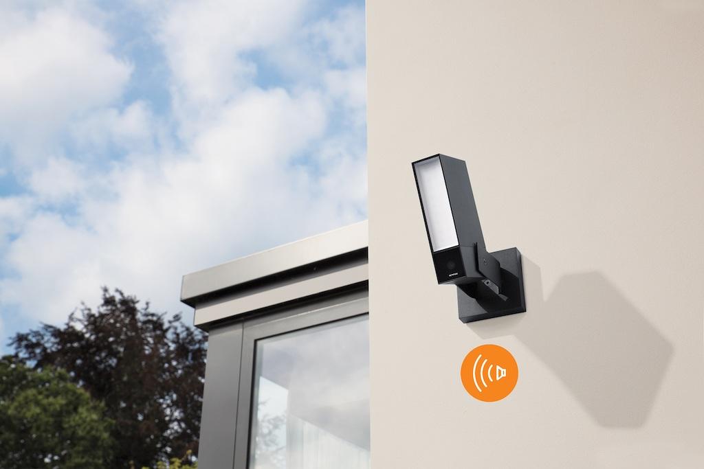 Tech :  Netatmo présente sa nouvelle caméra d'extérieur HomeKit avec sirène d'alarme – sans frais d'abonnement ›Macerkopf  infos , tests