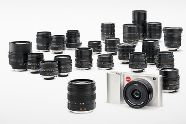 The T promises to be a good playmate for a wide range of Leica M lenses thanks to the intelligent mount adapter
