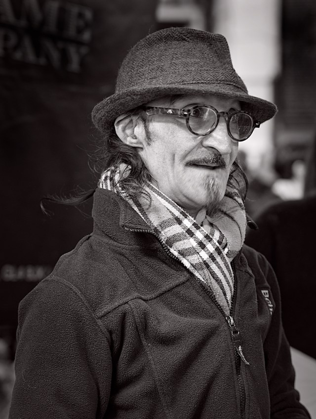 Borough Market Trader: A magnificent off-the-cuff portrait byGeorge James (Leica M-P and 50mm Apo-Summicron)
