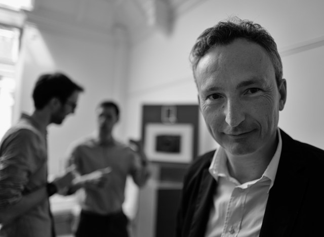 Jason Heward, managing director of Leica UK at the launch of the Q in Mayfair on June 10 2015