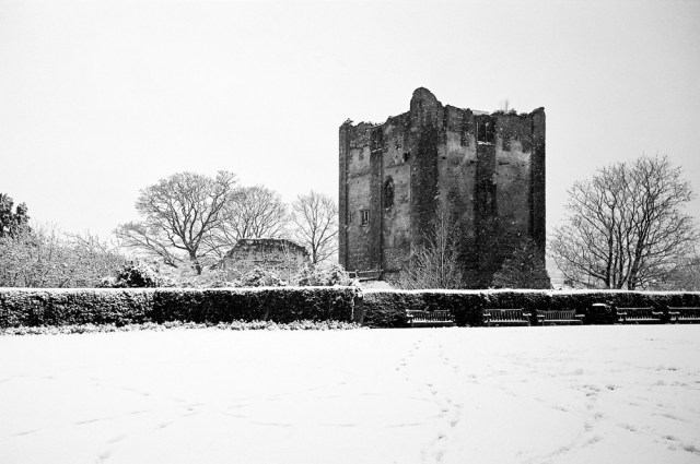 My Englishman even took me to Guildford castle in the middle the winter. It was so cold I was reminded of my time in Russia during World War II