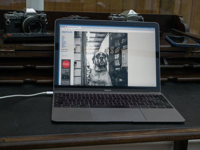 The MacBook is the perfect travelling companion, but is it too slow? Would you be better with a similarly priced MacBook Pro, even though it weighs more?