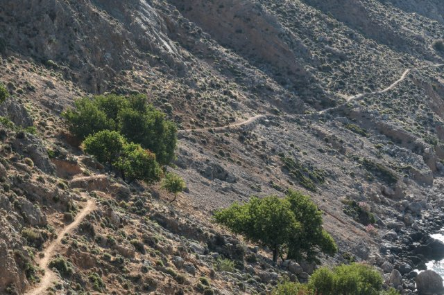 The Route from Sweetwater to Loutro (ISO 125 1/400th f5.3 101mm Leica C-Lux)