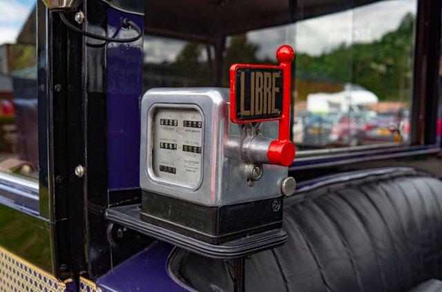 Harking back to simpler days, all analogue controls and a minimum of digital frills — veteran Paris taxi shot with Leica's veteran X2