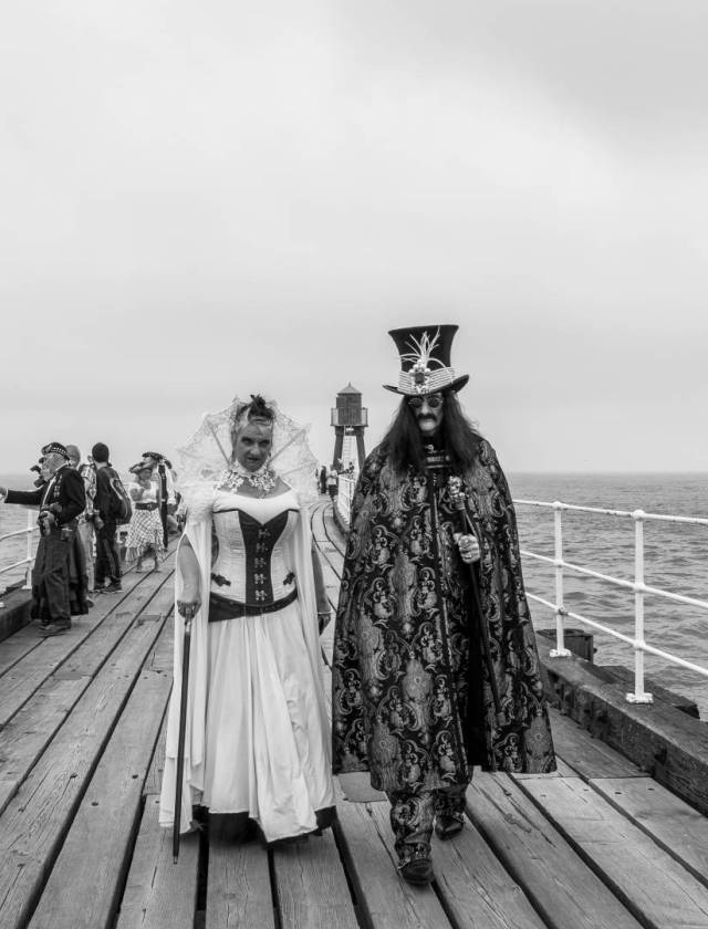 Drac and Bride Steampunk style