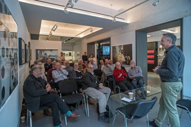 Leica UK managing director Jason Heward brings TLS members up to date on developments.