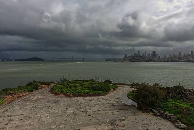 Alcatraz commands the Bay, X-T10 and 16mm