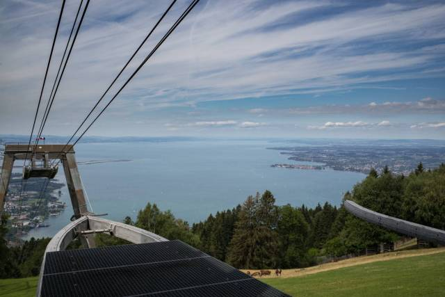 Place with a view: Cable on Mount Pfänder in Austria, above Lake Constance. Summarit-M 35/2.4 1/750 sec, f/4.8, ISO 200 - Leica M Typ 262 (Image ©Jörg-Peter Rau)