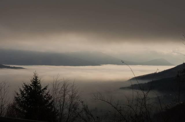 Clouds above Korenica