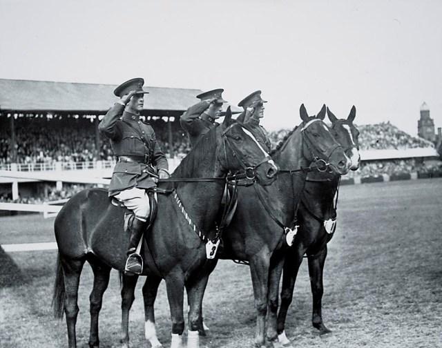 Irish Army Team, led by Captain Dan Corry on Red Hugh