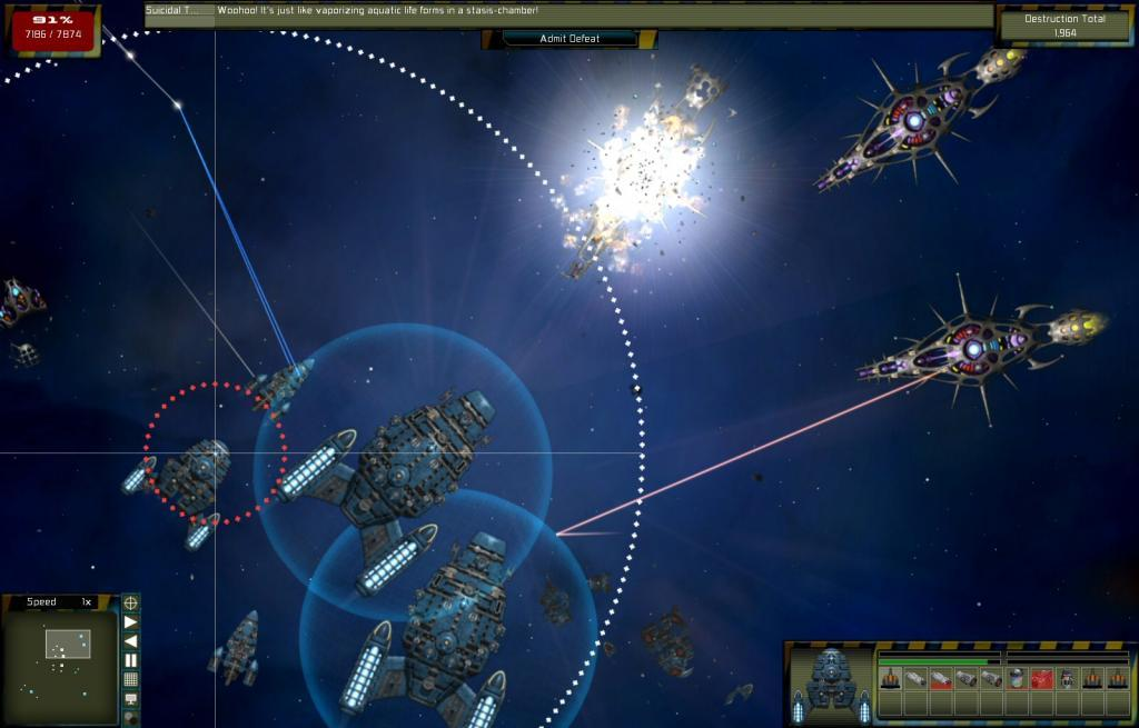 We've researched the best options to help you pick one and start building. Gratuitous Space Battles | macgamestore.com