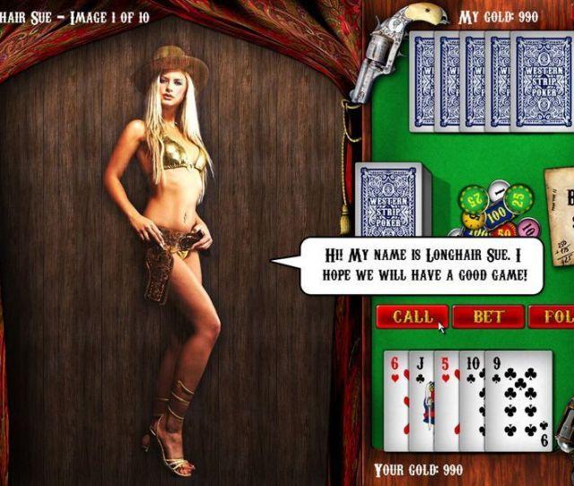 Western Strip Poker Screenshot 1