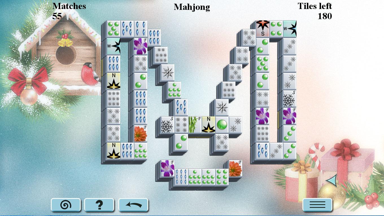 Winter Mahjong  macgamestorecom