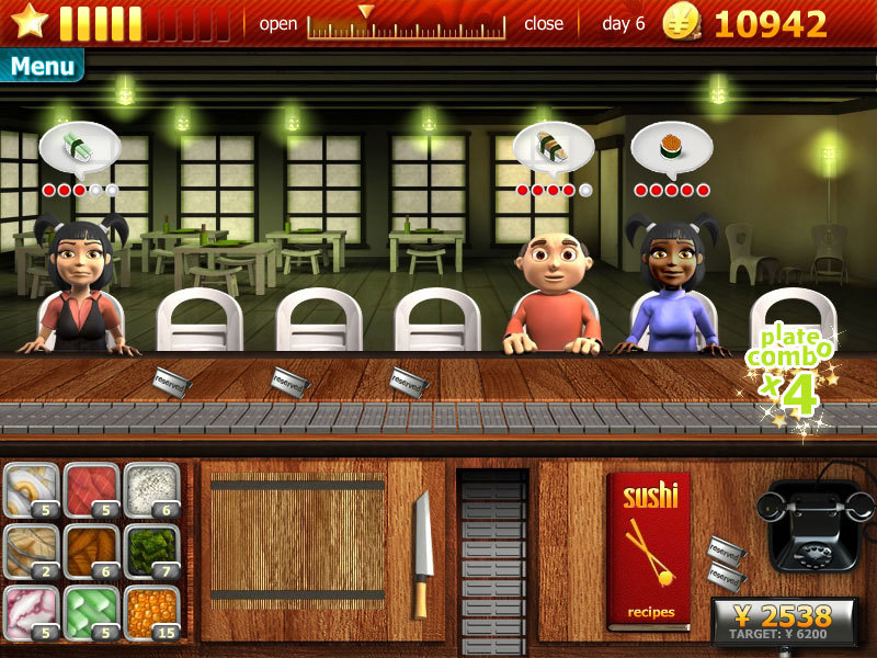 Restaurant And Serving Games