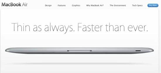 Current MacBook Air supply evaporates, signals new model?