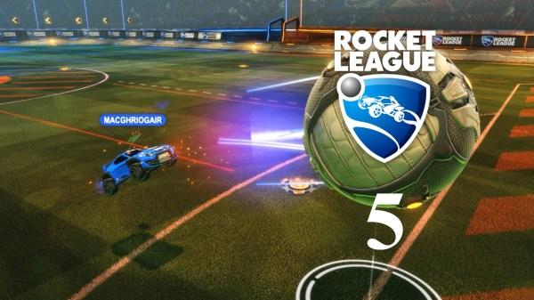 Rocket League Play Gameplay Episode 5 Macghriogair