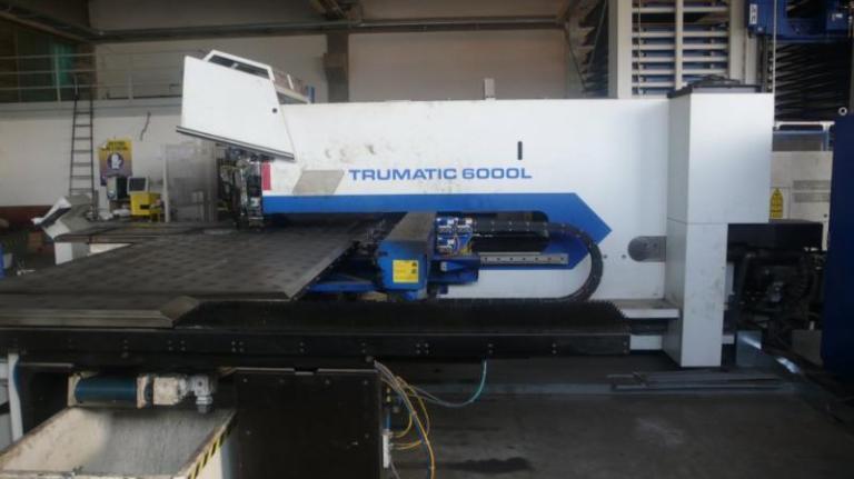 Combinata laser Trumpf Trumatic TC6000L-1600 FMC