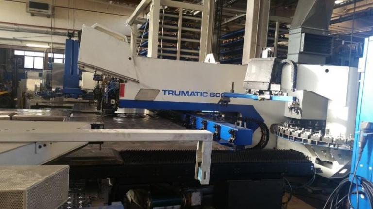 Combinata laser Trumpf Trumatic TC6000L-FMC da 3000 W