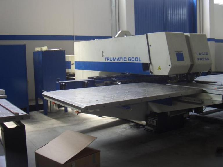 Trumpf Trumatic TC-600L combinata laser