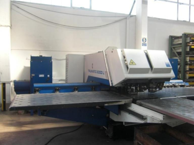 Combinata laser Trumpf Trumatic TC6000L