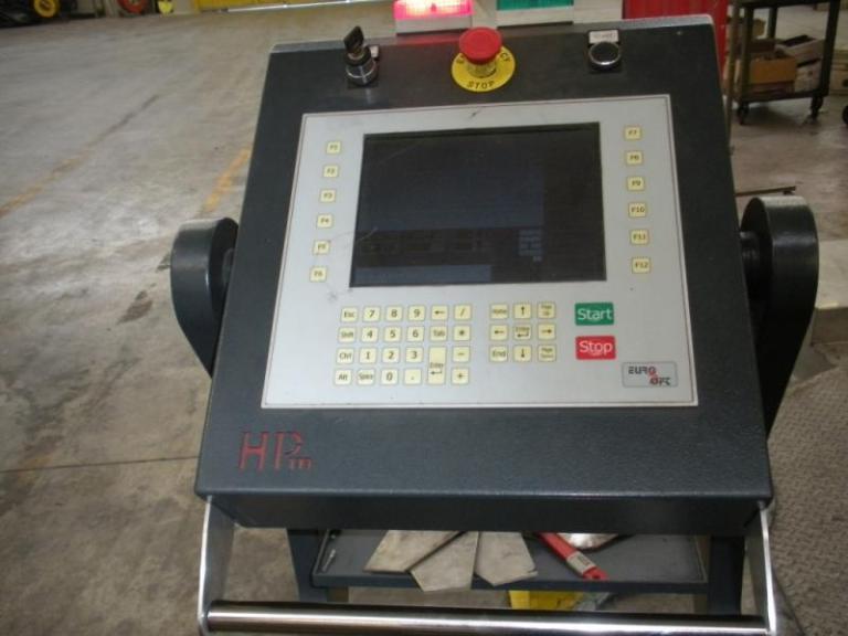 taglio al plasma HPM-6025 pannello di contollo