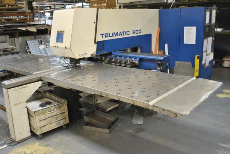 punzonatrice Trumpf Trumatic TC500R(1600) usata in vendita
