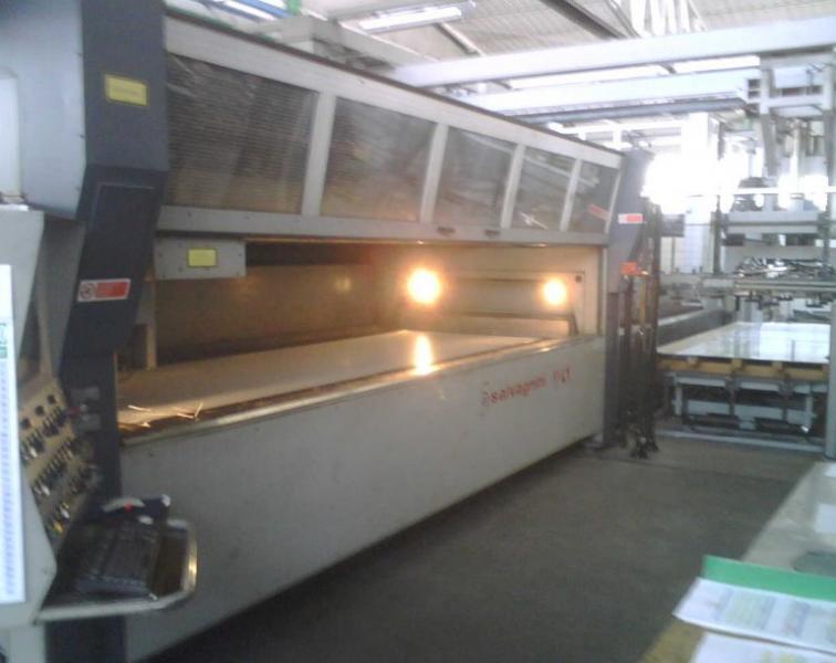taglio laser Salvagnini L1-3015 usato in vendita