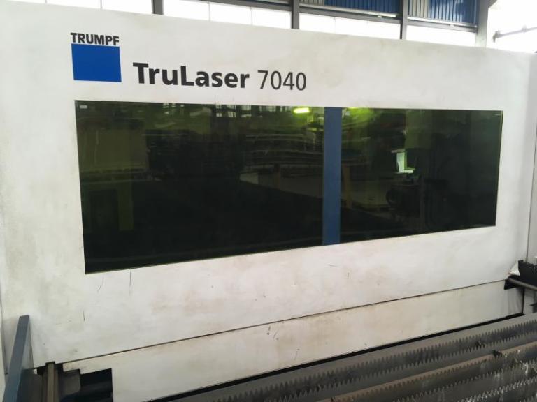 taglio laser Trumpf TruLaser 7040 fiber usato in vendita