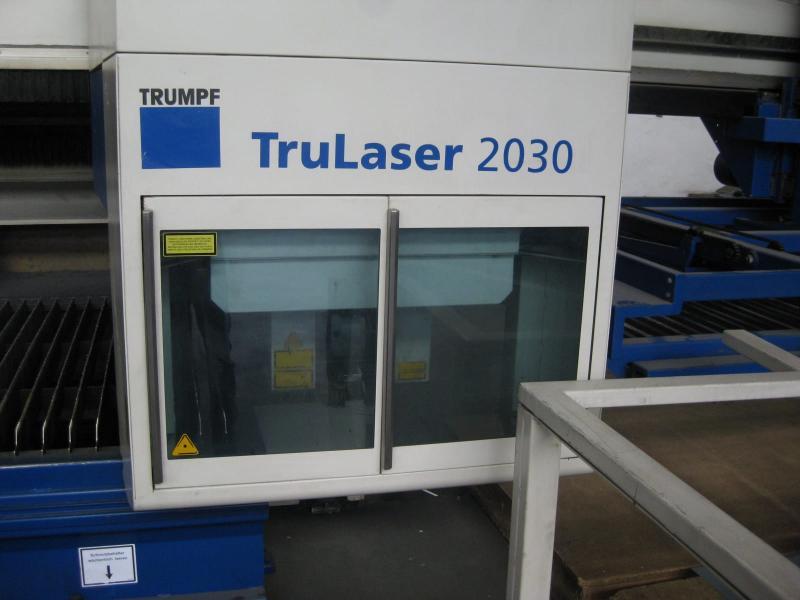 taglio laser Trumpf TruLaser 2030 usato in vendita