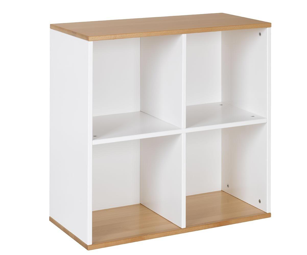 meuble de rangement enfant 4 cases cuba