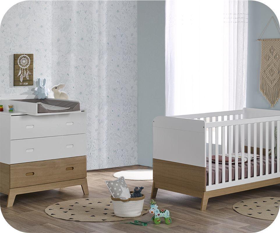 Chambre Bebe Bois Moderne - Maison design d\'intérieur et ...