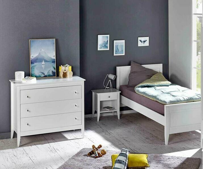 chambre enfant lou set de 3 meubles