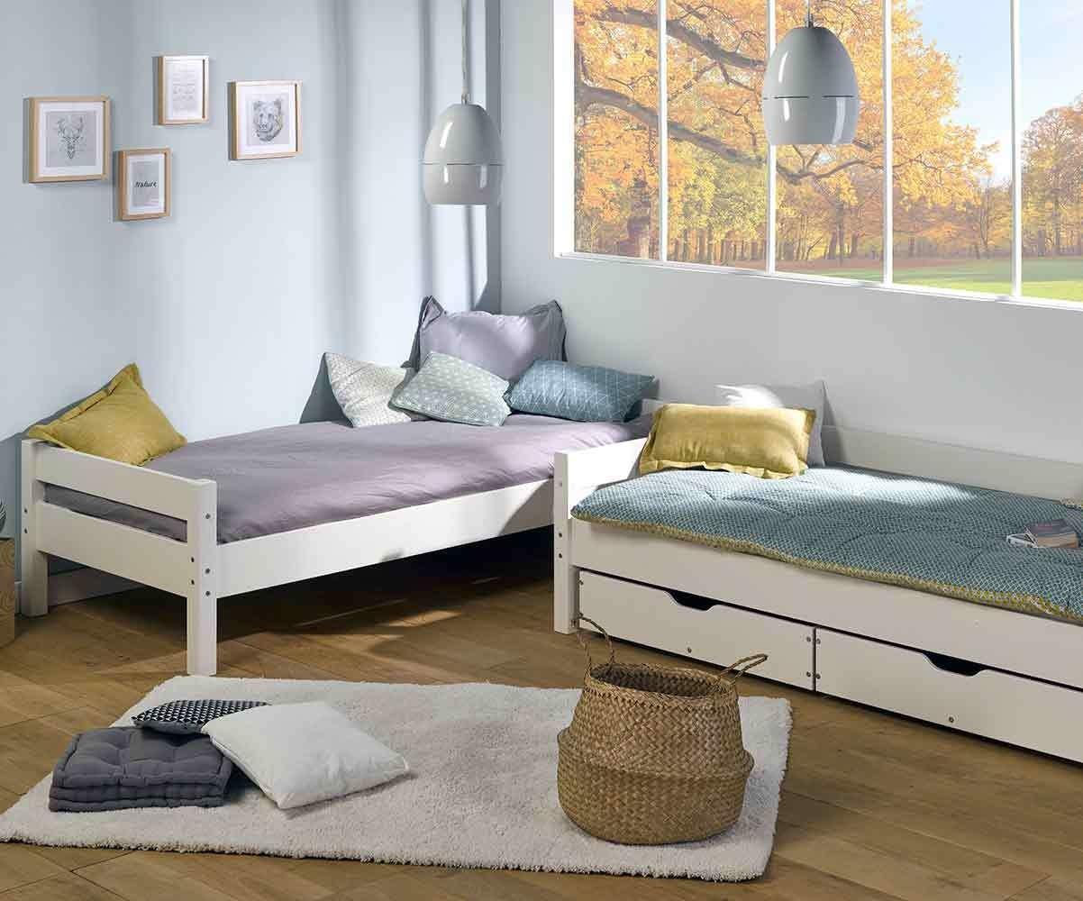 lit adulte superpose avec matelas wood