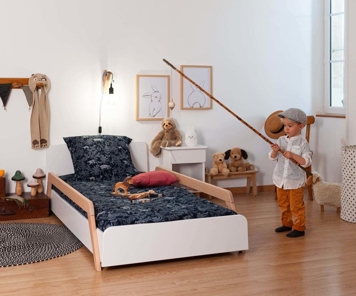 lit enfant avec barrieres ozzo