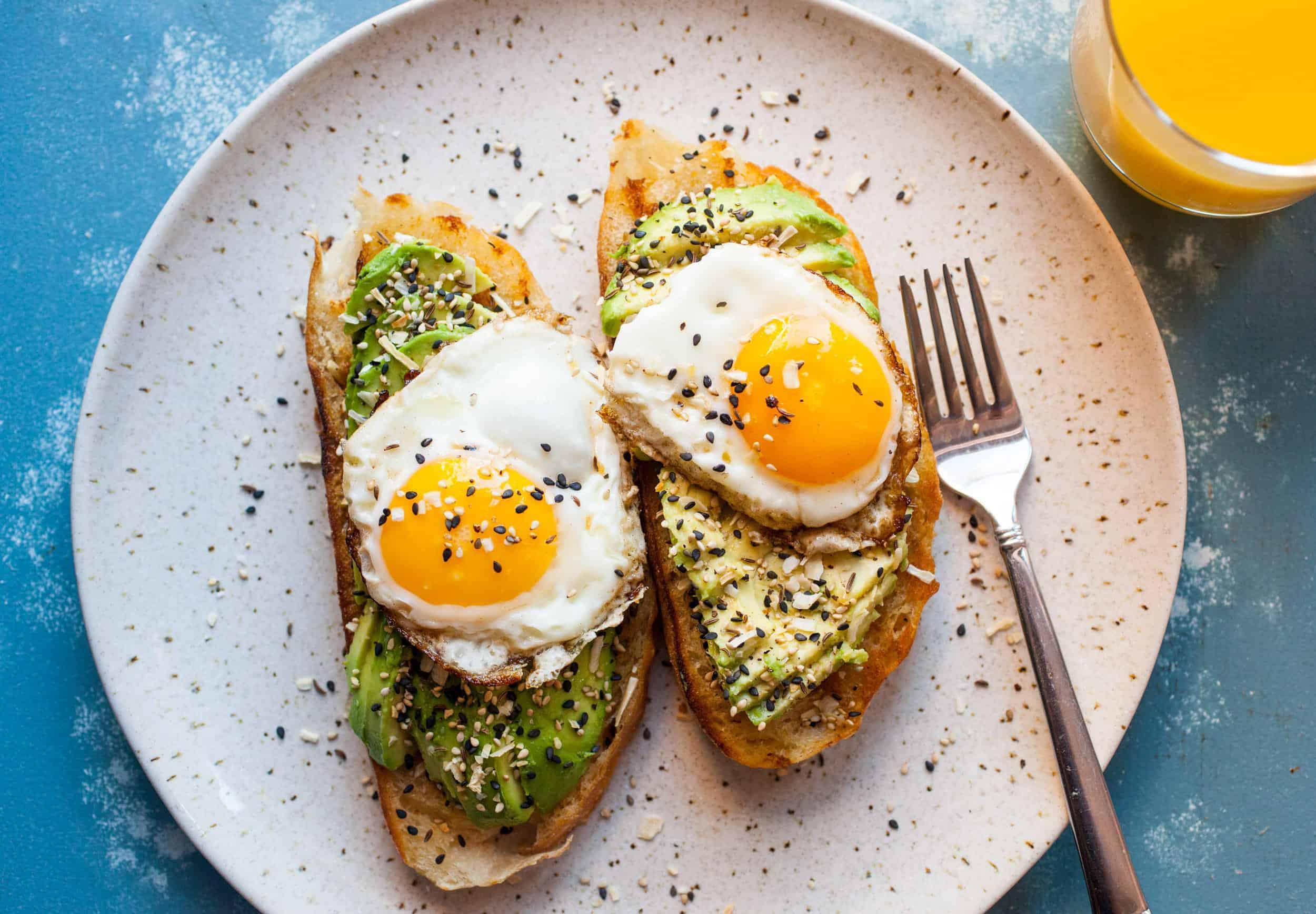 everything avocado toast