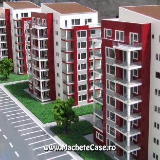 Proiect Elco - Machetă cartier de blocuri