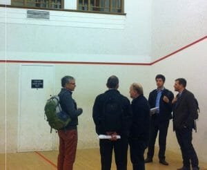 Magdalen College, Oxford University - squash court to make music