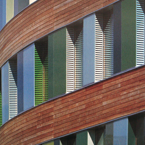Acoustics of Vented Facades