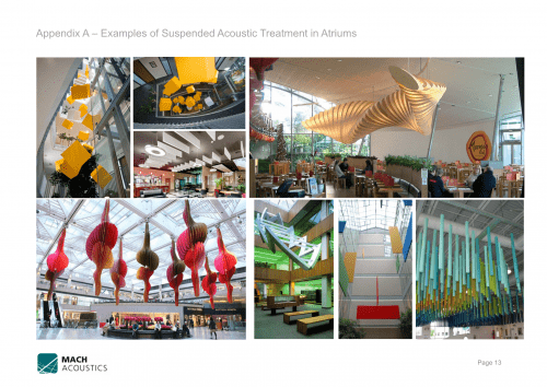 Example Report: Keynsham Town Hall Atrium