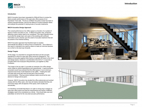 Example Report: Keynsham Town Hall Design Report