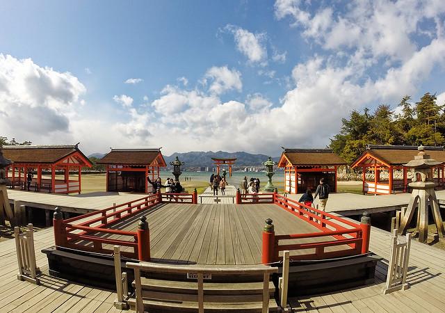 広島県宮島の画像