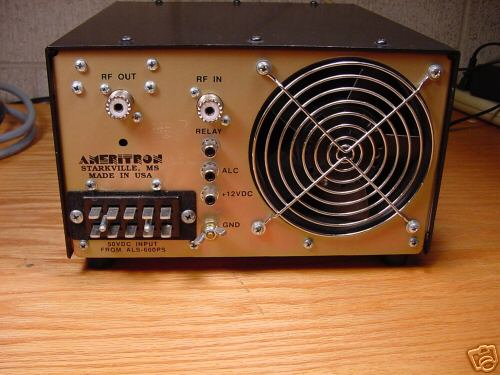 Ac Fan Wiring Ameritron Als 600 Solid State Linear Amplifier Mint