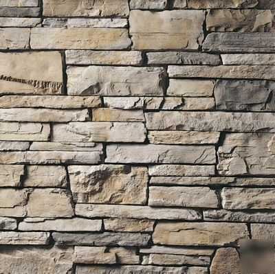 Owens corning stone aspen country ledgestone corners